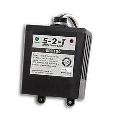 CPS SPD150 - 5-2-1 Compressor Saver Surge Protector, 120/240 Volt, Single Phase, 50 or 60 Hz, 100K Maximum Surge Current