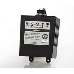 CPS SPD60 - 5-2-1 Compressor Saver Surge Protector, 120/240 Volt, Single Phase, 50 or 60 Hz, 60K Maximum Surge Current
