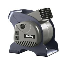 """Air King 9550 - 3-Speed Commercial Grade Pivoting Blowers, 325 CFM, 6"""" x 6"""""""