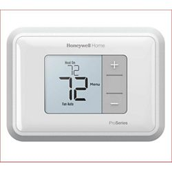 Honeywell TH3210U2004/U - T3 Pro Non-Programmable Thermostat, 2 Heat/1 Cool Heat Pumps
