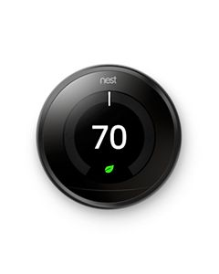 Nest T3016US - 3rd Gen-Pro  Learning Thermostat, Wi-Fi Programmable, Black