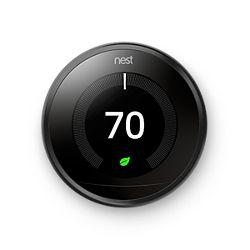 Nest T3016US - 3rd Gen-Pro  Learning Thermostat, Wi-Fi Programmable, Black