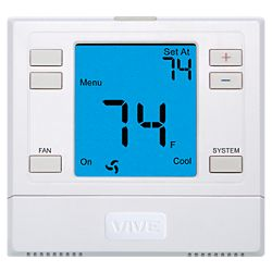 VIVE - TP-N-751 3H/2C Non-Programmable Thermostat with Humidify And De-Humidify